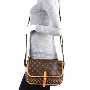 Auth Louis Vuitton Congo Crossbody Bag